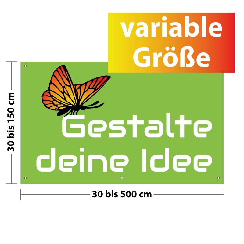 PVC Banner - Folie - Plakat selbst gestalten & online drucken