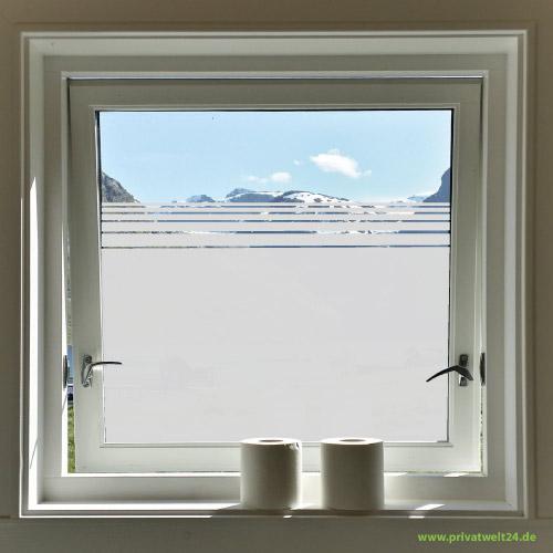 Fenstermotiv Verlaufstreifen