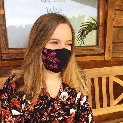 Mund-Nasen-Maske selbst gestalten
