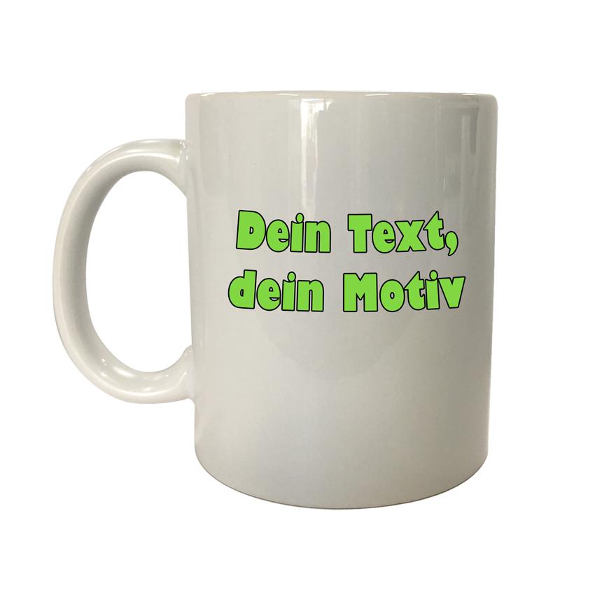 Tasse mit deinem Motiv bedrucken